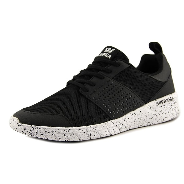 Supra Scissor Men Black-White Speckle Skateboarding Shoes