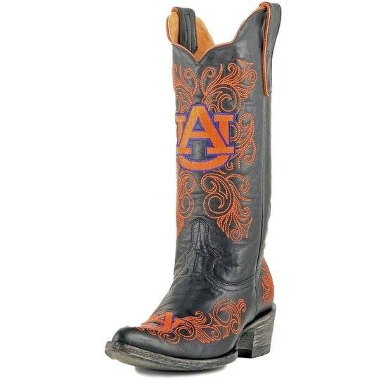Gameday Boots Womens College Auburn Tigers Black Orange