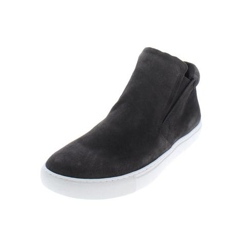 Kenneth Cole New York Womens Kalvin Slip-On Sneakers Solid High Top