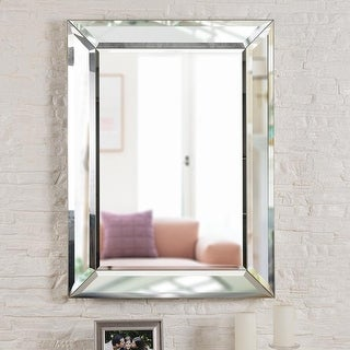 """Link to Nolan 40-inch Rectangular Beveled Wall Mirror - 30""""x 40"""" Similar Items in Decorative Accessories"""