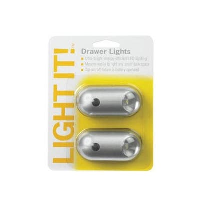 Fulcrum Products 20041-301 LED Drawer Light, Silver