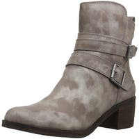 Lucky Brand Womens Cordeena Faux Fur Closed Toe Ankle Cold Weather Boots