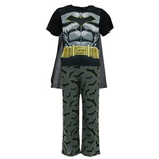DC Comics Boy's Batman Pajama Set with Cape