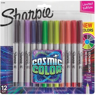 Sharpie Cosmic Color Ultra Fine Point Markers 12/Pkg-