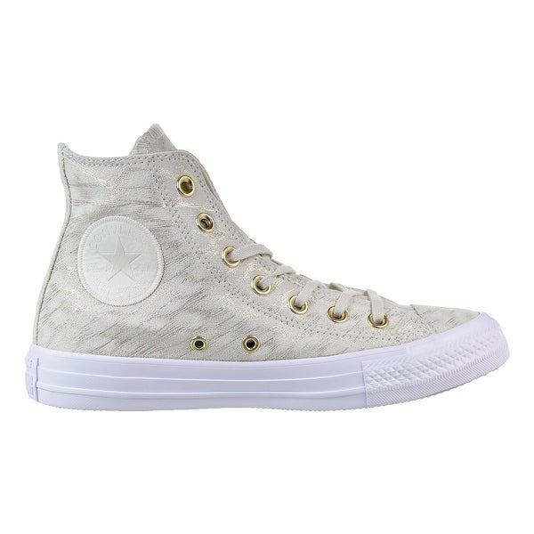 f76dafab0c Converse Womens Chuck Taylor All Star HI Leather Hight Top Lace Up Fashion  Sn..