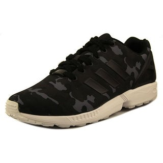 Adidas ZX Flux Men  Round Toe Synthetic Black Sneakers