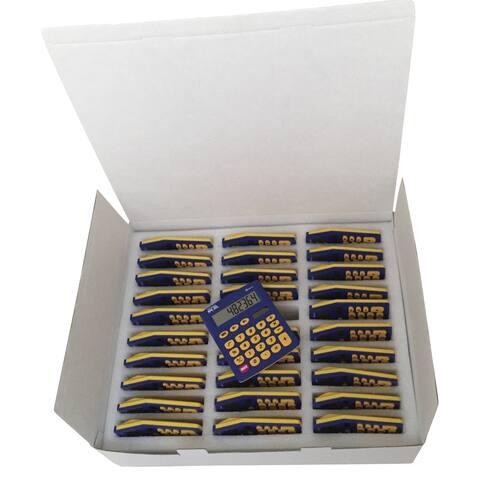 School Smart Primary Calculators, 4 x 5-1/2 Inches, Pack of 30