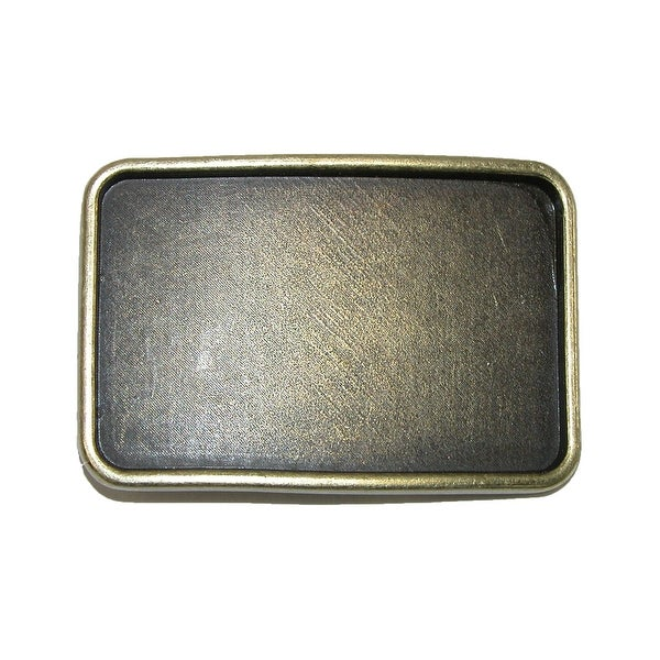 CTM® Blank Large Belt Buckle