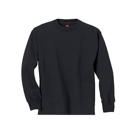 Hanes Youth ComfortSoft® TAGLESS® Long-Sleeve T-Shirt
