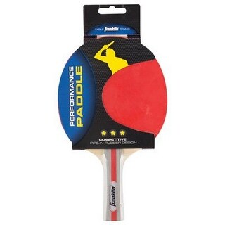 Franklin Unisex Competition Table Tennis Paddles, Red, Os