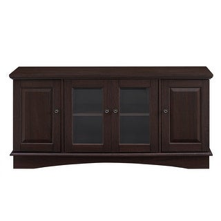 "Delacora WE-BDQ52C4DR  52"" Wide Laminate and Wood Media Cabinet"