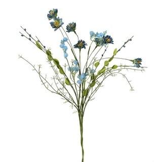 """Mini Daisy Spray 21""""-Blue"""