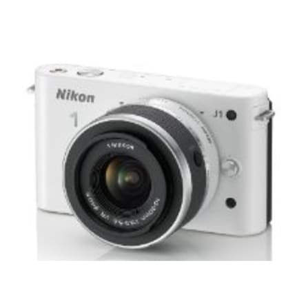 Nikon 1 27528 J1 10.1 Megapixels Mirrorless Digital Camera - 3x (Refurbished)