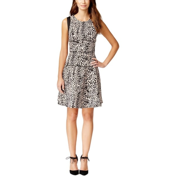 Shop Rachel Rachel Roy Womens Party Dress Animal Print Sleeveless - Free  Shipping On Orders Over  45 - Overstock - 17769853 45ce55a48523