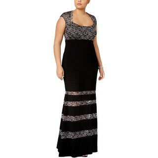 Xscape Womens Plus Evening Dress Special Occasion Full-Length