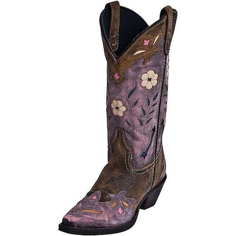Laredo Fashion Boots Womens Miss Kate Arrow Cowboy Tan Pink