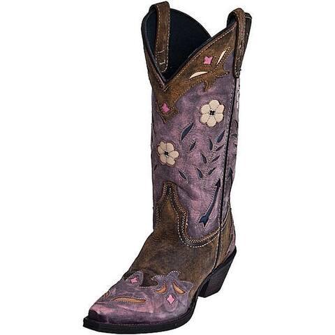 Laredo Fashion Boots Womens Miss Kate Arrow Cowboy Tan Pink