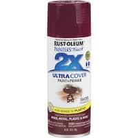 Rust-Oleum Gls Cranbrry Spray Paint 249863 Unit: EACH