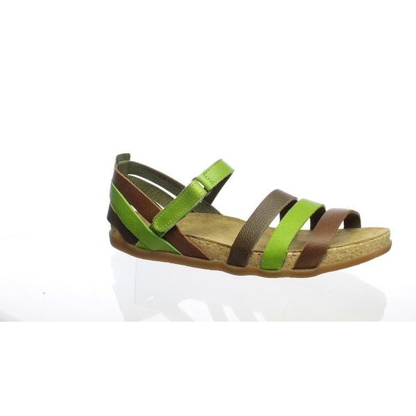 a476d0618a Shop El Naturalista Womens Zumia Green Sandals EUR 41 - Free ...