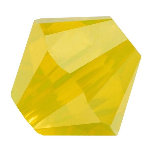 Swarovski Elements Crystal, 5328 Bicone Beads 6mm, 20 Pieces, Yellow Opal