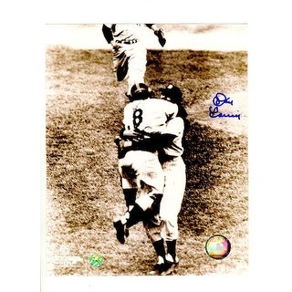 """Autographed Don Larsen New York Yankees """"Perfect Game"""" 8x10 Photo"""