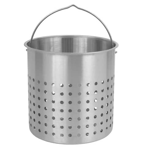 Bayou Classic® 44-Qt. Stainless Perforated Basket