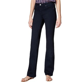 Rachel Rachel Roy Womens Helen Boot Cut Jeans Denim