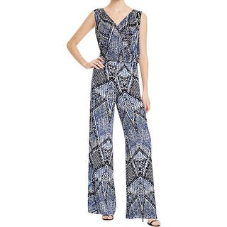 Parker Womens Jumpsuit Silk Printed