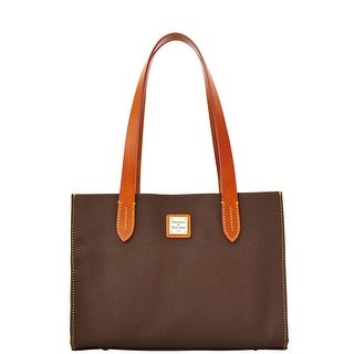 Dooney & Bourke Eva Small Shopper (Introduced by Dooney & Bourke at $188 in Aug 2013) - brown tmoro
