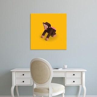 Easy Art Prints Bo Virkelyst Jensen's 'Monkey' Premium Canvas Art
