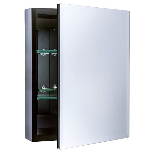 """Miseno MBC2016 Dual Mount 20"""" X 16"""" Beveled Medicine Cabinet (Surface or Recessed Mounting)"""