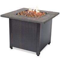 """Blue Rhino Endless Summer Outdoor Fireplace LP Gas Firplace"""