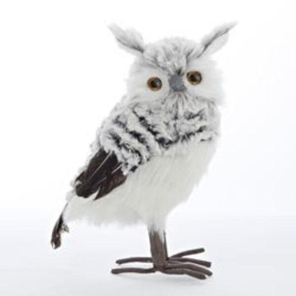 Shop Set Of 4 Snowy Owl Christmas Ornament Or Table Top Décor 10