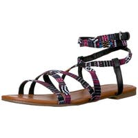Indigo Rd. Womens Camryn-2 Open Toe Casual Strappy Sandals