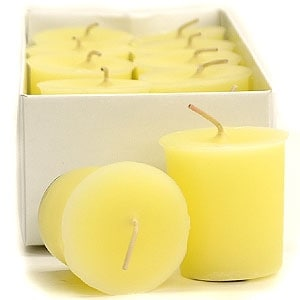 3 Boxes of Honeysuckle Votive Candles Votive Candles Pack: 12 per box 1.75 in. diameter x 2 in. tall