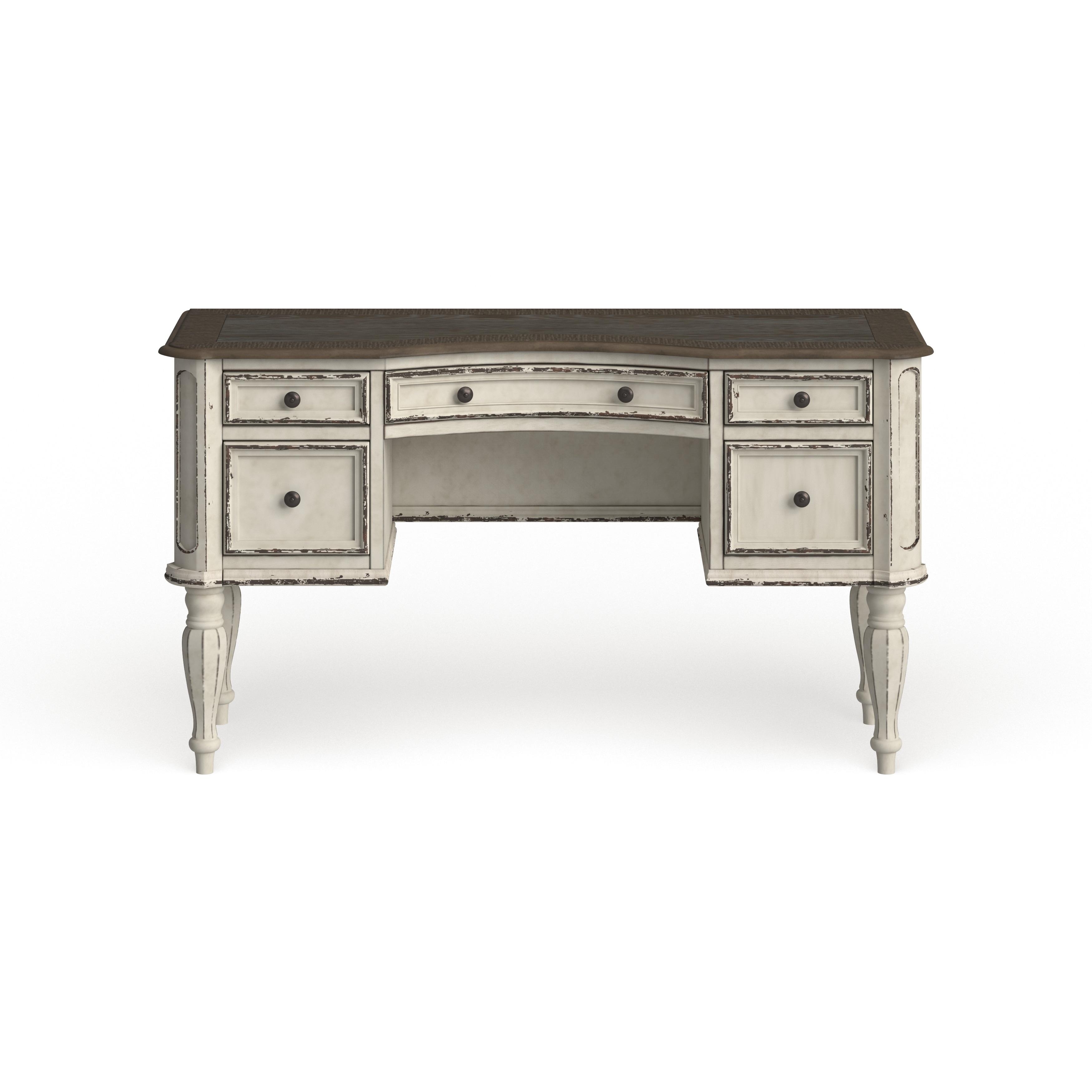 Magnolia Manor Antique White Vanity Desk