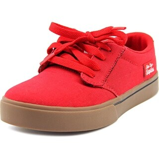 Etnies Jameson 2 Eco Youth Round Toe Canvas Red Fashion Sneakers