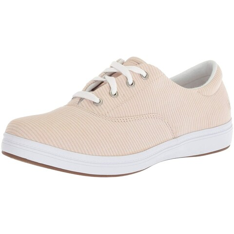 Grasshoppers Womens Janey Fabric Low Top Lace Up Fashion Sneakers - 5