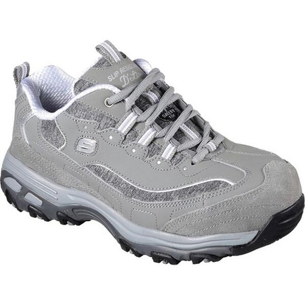 43c1c40cf9e4 Shop Skechers Women s Work D Lites SR Pooler Alloy Toe Work Shoe ...