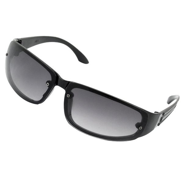 5f2d9faea656 Shop Unisex Plastic Arm Rim Frame Rectangle Lens Sun Glasses Sunglasses -  Free Shipping On Orders Over  45 - Overstock - 17599616