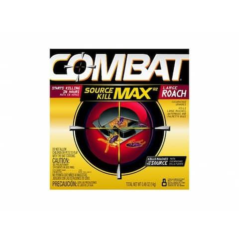 Combat 51913 Superbait Roach Bait for Large Roaches, 8 Count