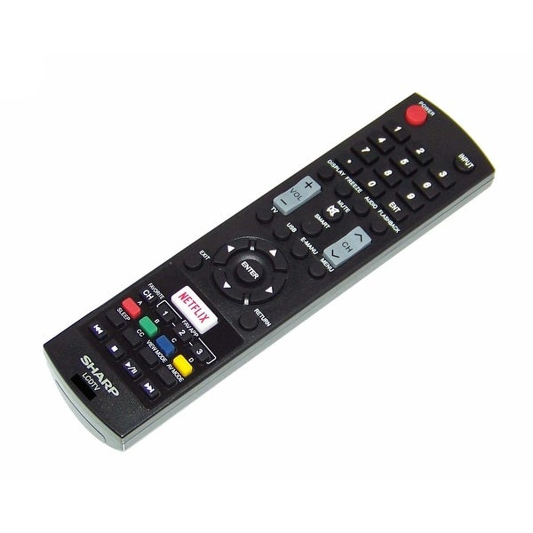 OEM Sharp Remote Control Originally Shipped With: LC55LE653U, LC-55LE653U, LC43LE653, LC-43LE653