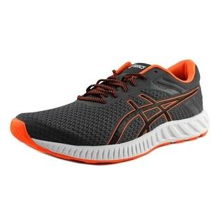 Asics FuzeX Lyte 2 Men Carbon/Black/Hot Orange Running Shoes