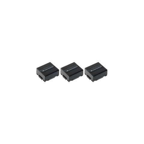 Replacement Panasonic PV-GS300 Li-ion Camcorder Battery - 700mAh / 7.2v (3 Pack)