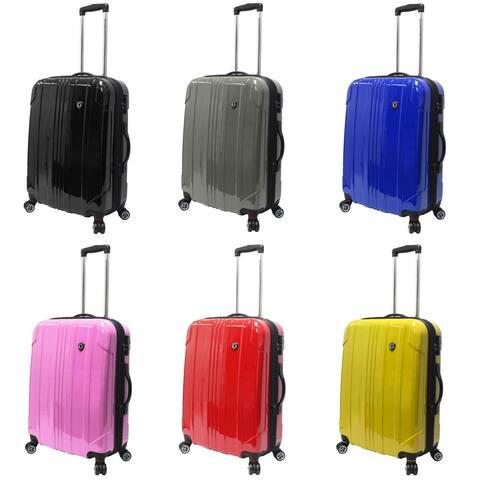 "Traveler's Choice Sedona 100% Sedona 25"" Lightweight Expandable Spinner Luggage"