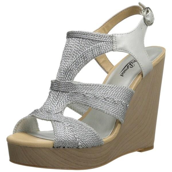 Lucky Women's Rosiee Platform Wedge Sandals - 10