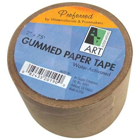 Art Alternatives - Gummed Paper Tape