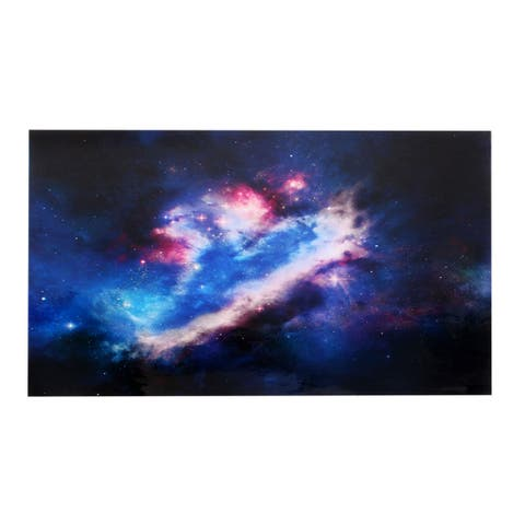 "Unique Bargains Universe Print Sticker Protective Skin Decal Dark Blue for 15.6"" 14"" 13"" Laptop"
