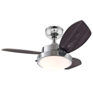 """Westinghouse 7876300 Wengue 30"""" 3 Blade Hanging Indoor Ceiling Fan with Reversib"""