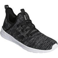 adidas Women's Cloudfoam Pure Sneaker Core Black/Core Black/FTWR White Mesh